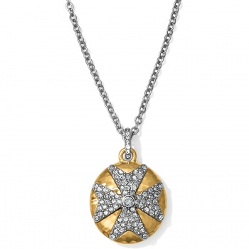 Anatolia Infinity Reversible Cross Necklace