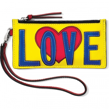 Love Story Love Burst Card Pouch