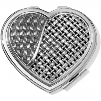 Cafes De Paris Heart Compact Mirror