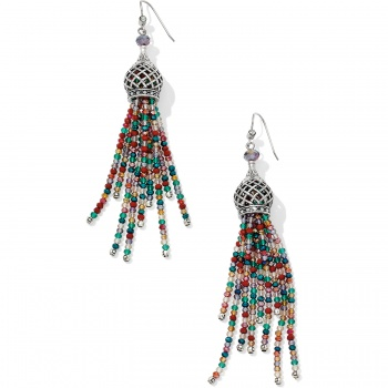 Sahuri Beaded Tassel French Wire Earrings