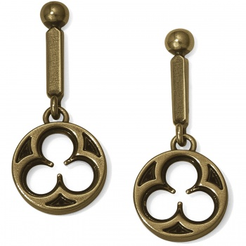 Ferrara Lorenza Round Post Drop Earrings