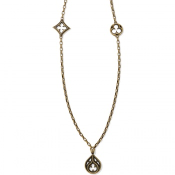 Ferrara Lorenza Trio Long Necklace
