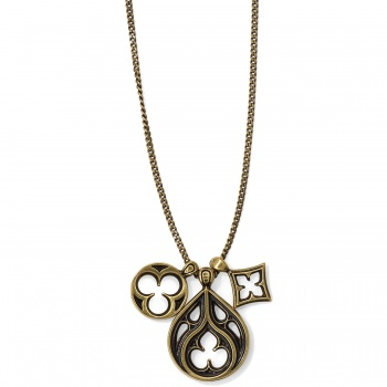 Lorenza Trio Short Necklace