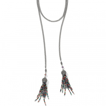 Sahuri Beaded Lariat Necklace