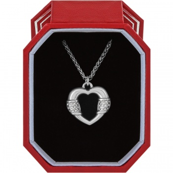 Meridian Linx Petite Heart Necklace Gift Box
