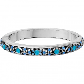 Eternal Sky Slim Hinged Bangle