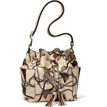 Sorella Drawstring Bucket Bag