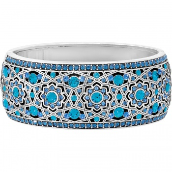 Eternal Sky Wide Hinged Bangle
