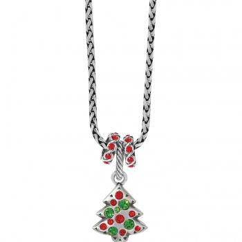 Tinsel Tree Charm Necklace