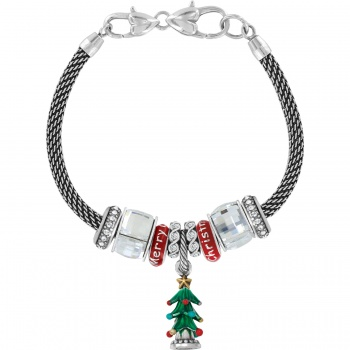 Limited Edition Christmas Tree Charm Bracelet