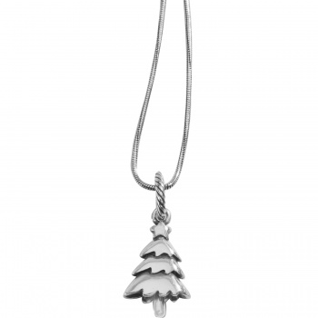 Noble Tree Long Charm Necklace