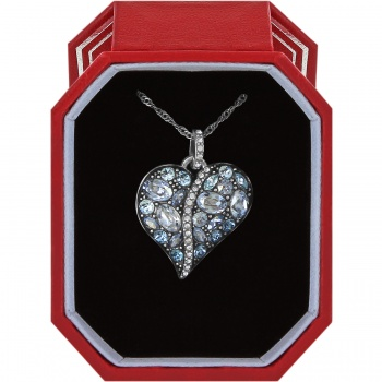Toledo Trust Your Journey Heart Necklace Gift Box