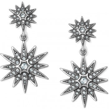 Contempo Starburst Post Drop Earrings