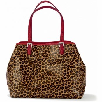 Haute Spots Petite Whitney Coated Travel Tote