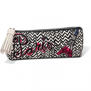 Fashion Passport Small Cosmetic Pouch