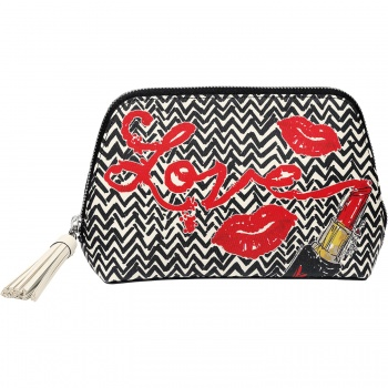 Fashion Passport Large Cosmetic Pouch