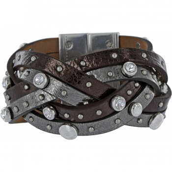Harlow Leather Cuff