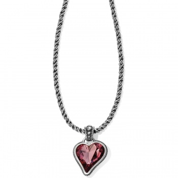 Bibi Heart Gem Necklace