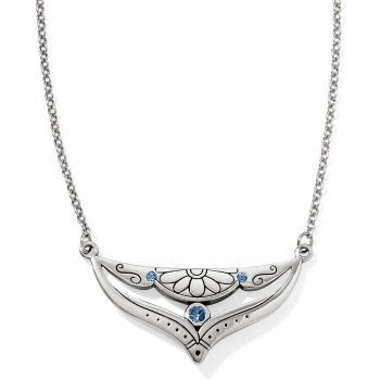 Casablanca Blues Reversible Short Necklace