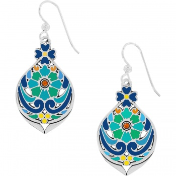 Casablanca Garden Drop French Wire Earrings