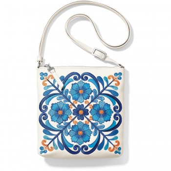 Casablanca Garden Embroidered Pouch