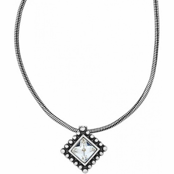 Twinkle Trio Twinkle Square Petite Necklace