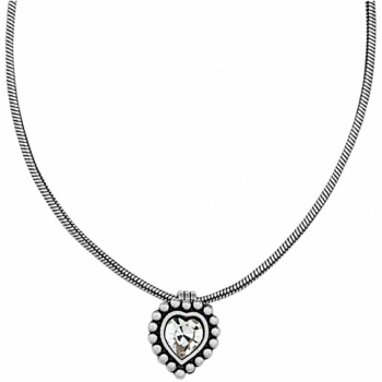 Twinkle Trio Twinkle Heart Petite Necklace