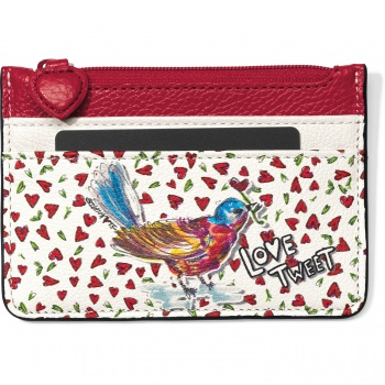Love Tweet Card Coin Case