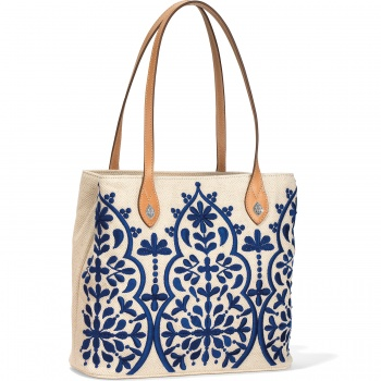 Mattie Embroidered Tote