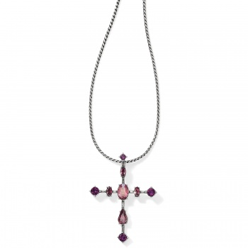 One Love One Love Cross Crystal Necklace