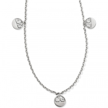 London Groove Disc Long Necklace