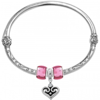 Alcazar Drop Charm Bangle