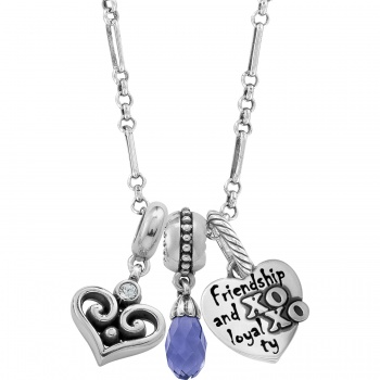 Friendship Charm Link Necklace