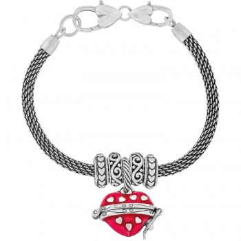image heart bead sunevalley products women bamoer for vintage silver charm crown bracelet product