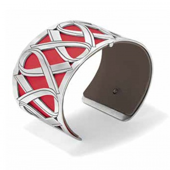 Christo Wear Red Christo Cuff Bracelet