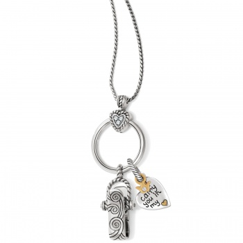 Heart Charm Badge Clip Gift Set