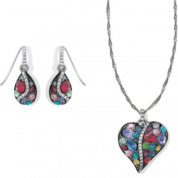 Trust Your Journey Jewelry Heart Gift Set