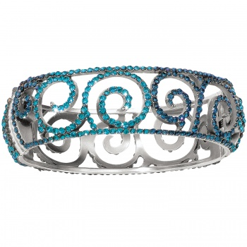 Sea of Love Hinged Bangle