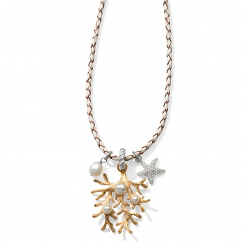 Sea Dreamer Sea Dreamer Coral Convertible Necklace