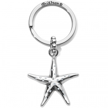 Blue Water Starfish Key Fob