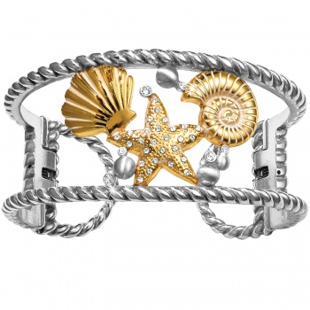 Sea Dreamer Double Hinged Bangle