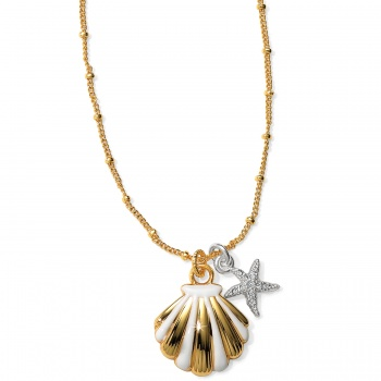 shining for elegant gold plated opal long swan off white women necklace product pendant