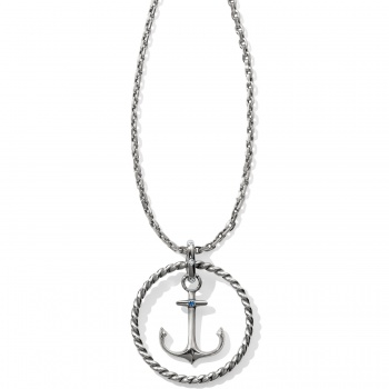Blue Water Blue Water Float Anchor Convertible Necklace