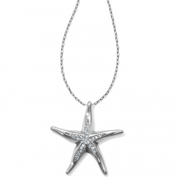 Blue Water Starfish Necklace