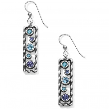Halo Rhythm French Wire Earrings