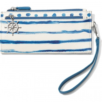 Blue Water Triple Zip Pouch