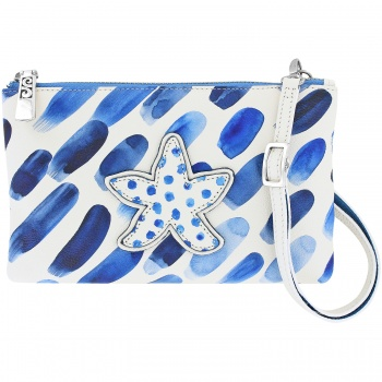 Blue Water Cross Body Pouch
