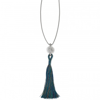 Ferrara Medallion Tassel Necklace