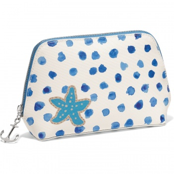 Blue Water Large Cosmetic Pouch
