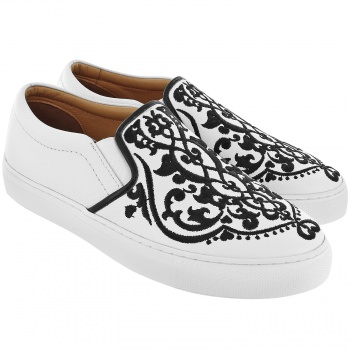 Moor Casablanca Embroidered Sneakers